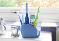 Blue Whale Silicone Bathroom Tidy